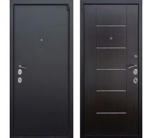 Входная дверь Rex 3А 'Черный муар / Венге'