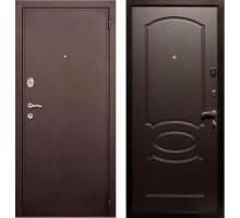 Входная дверь Rex 2 Хром, Цвет 'Венге'