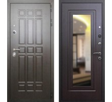 Входная дверь Rex 8 с зеркалом, Цвет 'Венге'