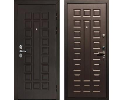 Входная дверь Rex Гладиатор CISA, Цвет 'Венге'