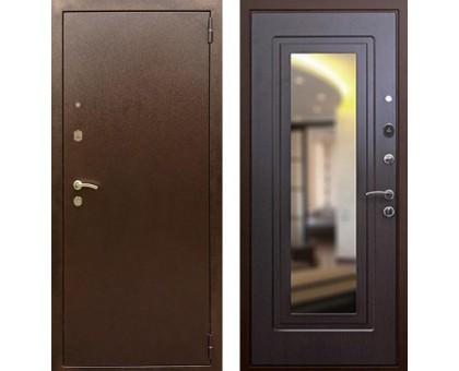 Входная дверь Rex 1А с зеркалом, Цвет 'Венге'