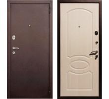 Входная дверь Rex 2 Хром, Цвет 'Беленый дуб'