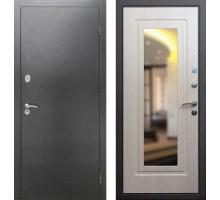 Входная дверь Rex 2А с зеркалом, Цвет 'Беленый дуб'