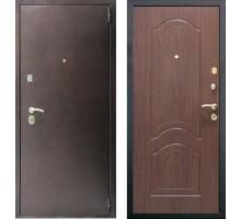 Входная дверь Сенатор Оптима 3К Орех тисненый
