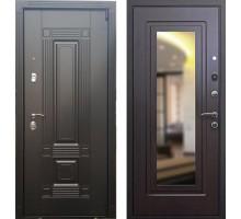 Входная дверь Сенатор Мадрид с зеркалом 'Венге'