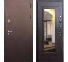 Входная дверь Сенатор Практик 3К с зеркалом, Цвет 'Венге'