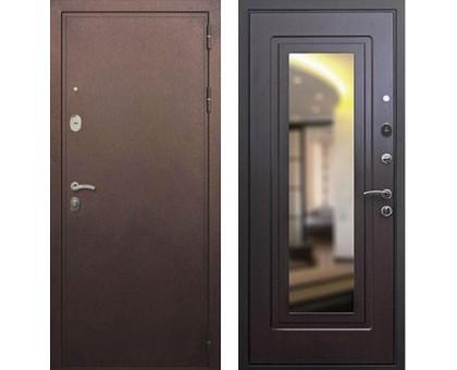 Входная дверь Практик 3К с зеркалом, Цвет 'Венге'