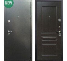 Входная дверь Сенатор Практик 3К Антик серебро / ФЛ-243, Цвет 'Венге'