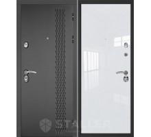 Входная дверь Сталлер Лика, белый люкс
