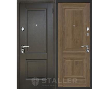 Входная дверь Сталлер Нова, салинас темный