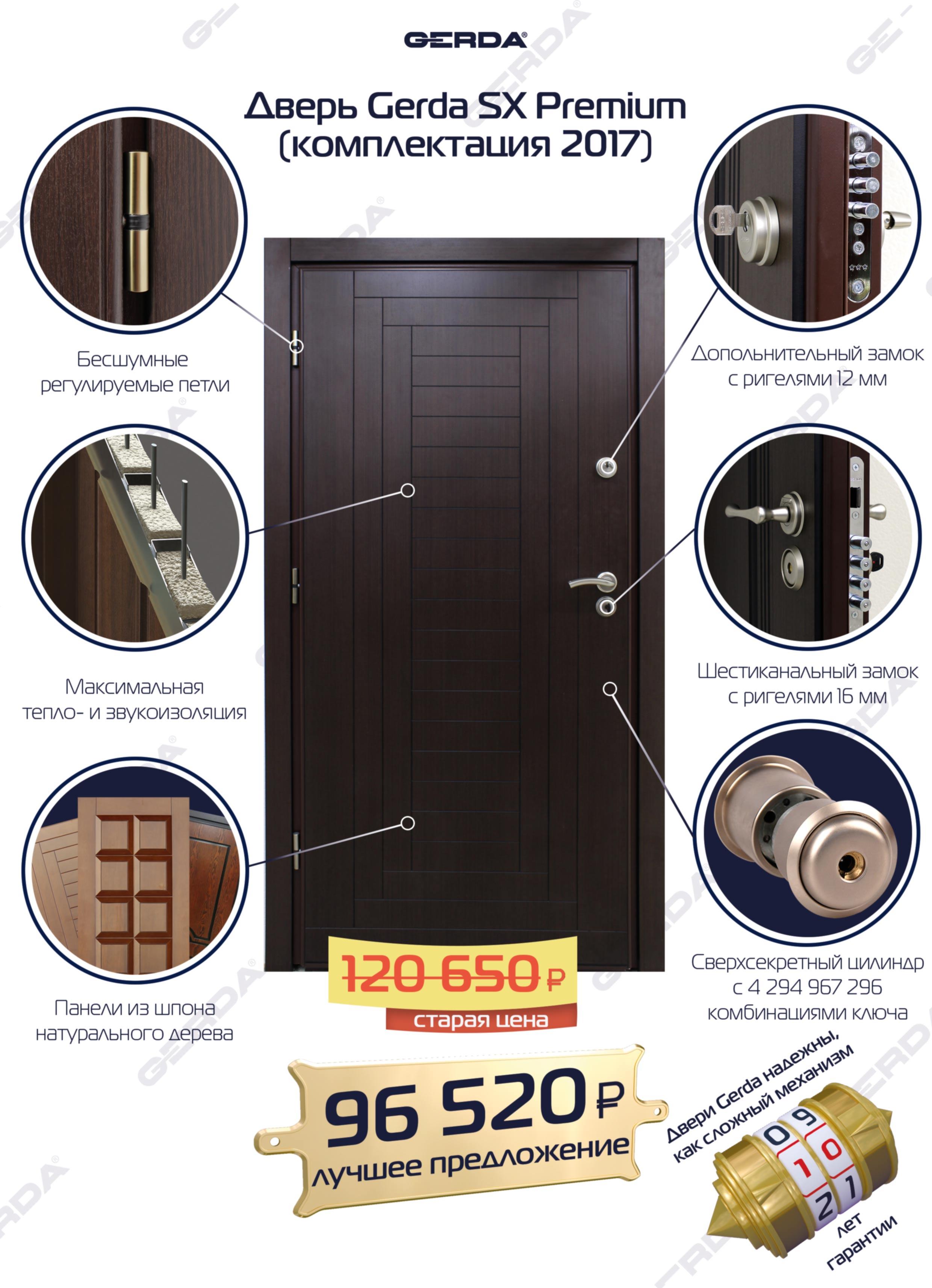 Конструкция двери Gerda | Салон дверей GERDA - Лучшее для вашего дома | 3425x2480
